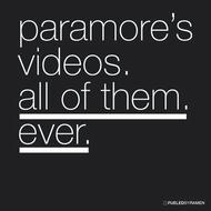 Paramore - Paramore's Videos. All Of Them. Ever