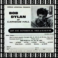 Bob Dylan - Carnegie Hall, New York, October 26th, 1963  (Remastered, Live)