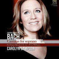 Carolyn Sampson, Freiburger Barockorchester and Petra Müllejans - Bach: Cantatas for soprano